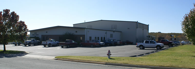 Lewis Metal Works facility in South Boston, VA - serving Virginia and the US